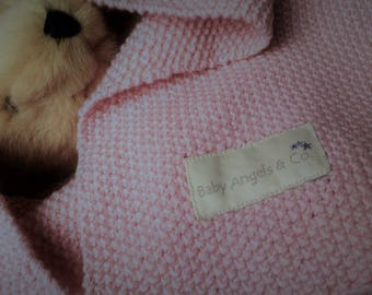 Baby Pram Blanket - Baby Angels & Co. - Hand Made Heirloom Newborn Gift