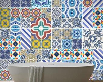 Traditional Tiles - Royal tiles - Tile Decal - Kitchen Tiles - Backsplash tile - Backsplash Decal - Bathroom Tile - Pack of 100 - SKU:ROYAL
