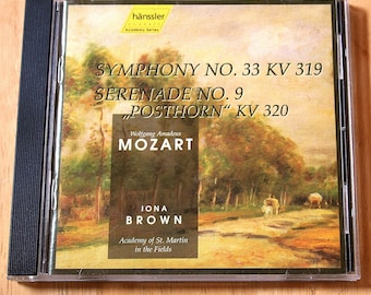 Mozart (1756-1791)--Academy of St. Martin in the Fields--Iona Brown, Conductor--CD--Shipping Included