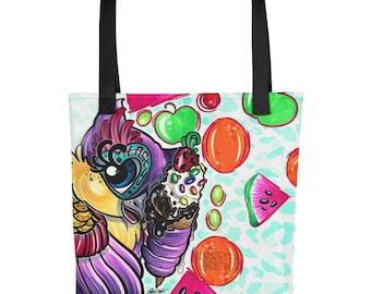 Tasty the Owl Tote bag by Kristel Oreto