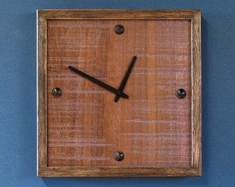 Coach Bolt Wall Clock