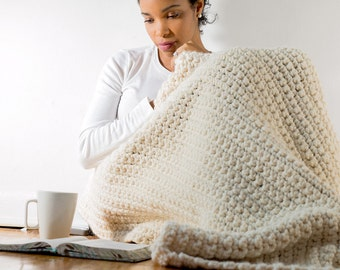 The Heavenly Crochet Blanket & Throw