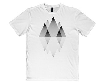 Mountains Lines MenS Very Important Tee