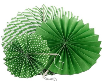 TAX SEASON Stock up 3 Piece Spiral Fan Set Party Decor Supplies Many colors to choose from