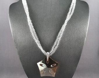 Swarovski Lotus Necklace