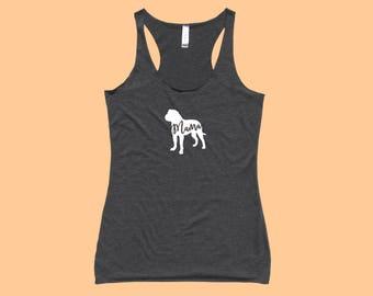 """Bullmastiff """"MAMA"""" - Fit or Flowy Dog Tank"""