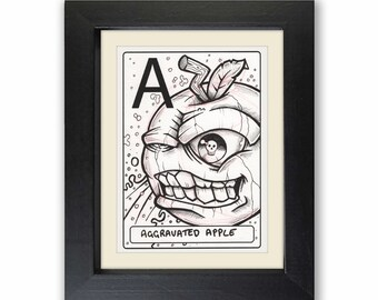 Signed Original Artwork, Drawing, Freehand, Limited Edition, Neil Rumary, Pen and Paper