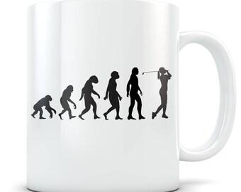 Golfing Mug, golfing gift, golfing gift idea, golfing gift for women, golfing gift for her, womens golf gift, golf gift, golfer