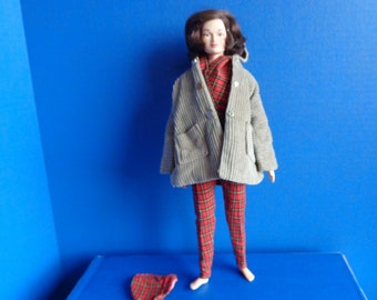 Vintage Remco Judy Littlechap Fashion Doll- 1960s