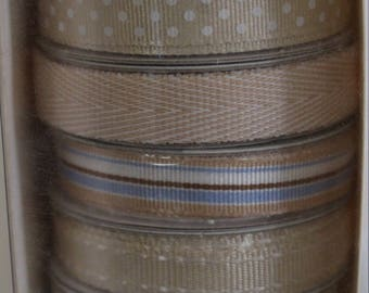 American Crafts - Elements Ribbon - Beiges
