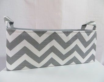 Diaper Caddy / baby caddy / Storage bin /  Toy Caddy / Toy Bin / Closet Storage / Nursery Storage / Fits 50 size 1 diapers 15 x 5 x 6