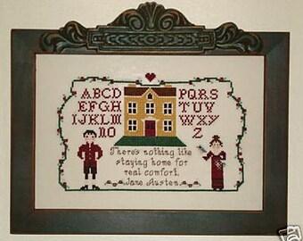 Jane Austen's The Comforts of Home Sampler