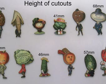 FRUIT & VEG Body and heads