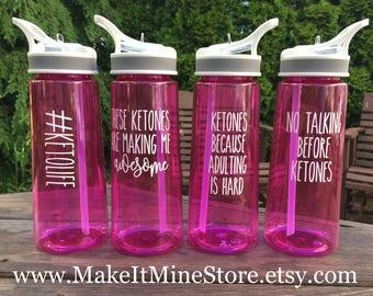 WATER BOTTLE, keto shaker bottle, Pruvit, Pruvit shirt, Pruvit water bottle, Ketone, Ketones, shaker bottle, water bottle, Keto, WB01