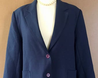 Vintage 1980s Damart men Blazer
