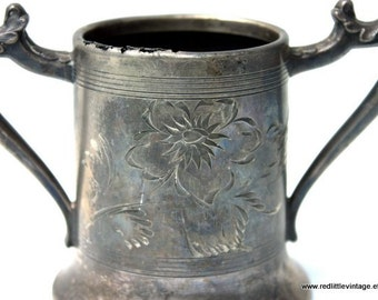 Small Cup, Beer Mug for Women, Decorative Vintage Cups, Antique Cup, Antique Silver Cup, Vintage Mug, Vintage Silver Cups, Cute Vintage Cups