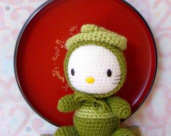 Amigurumi Pattern - Zodiac snake Kitty - Crochet amigurumi doll pattern / PDF