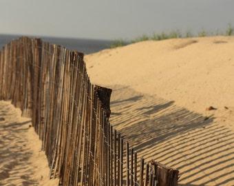 beach fence, beach decor, beach art, beach photo, beach photography, summer decor, summer art, cape cod decor, cape cod art, cape cod photo