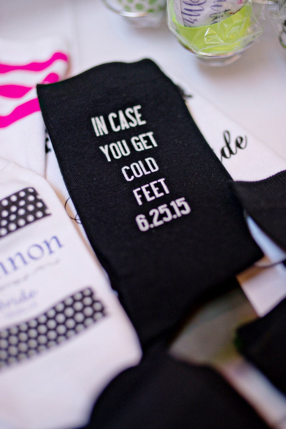In case you get cold feet grooms socks just in case he gets zoom junglespirit Image collections