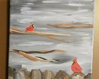 Cardinals Canvas