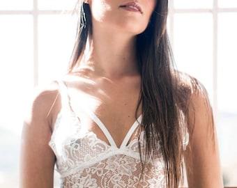 Beautiful LACE BRALETTE floral lace bra lacy bralette sheer bralette