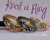 Wire Wrap Knot Ring, Jewe...