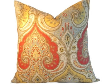 Decorator Pillow Cover Kravet Latika  Festival pillow, same fabric both sides