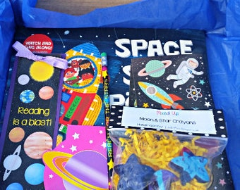Space Themed Book Box