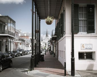 French Quarter New Orleans Greeting Cards