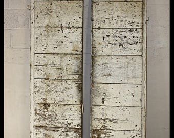 19th Century Rustic Doors (pair)