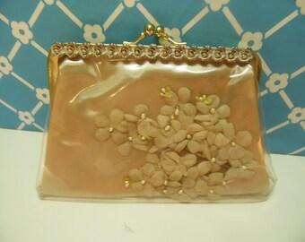 Mid Century Cosmetic Bag - Soft Peach