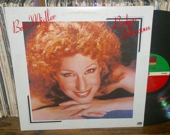 Bette Midler Broken Blossom Vintage Vinyl Record