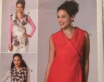 Butterick Sewing Pattern B6357 Y Misses' Top New UNCUT
