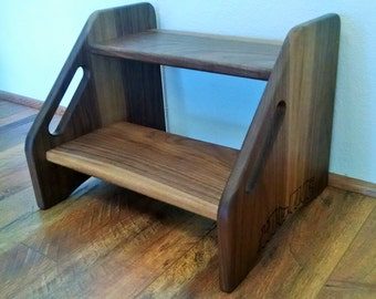 Step Stool, Toddler Step, Kids Step Stool, Childrens Step Stool, Bed Step