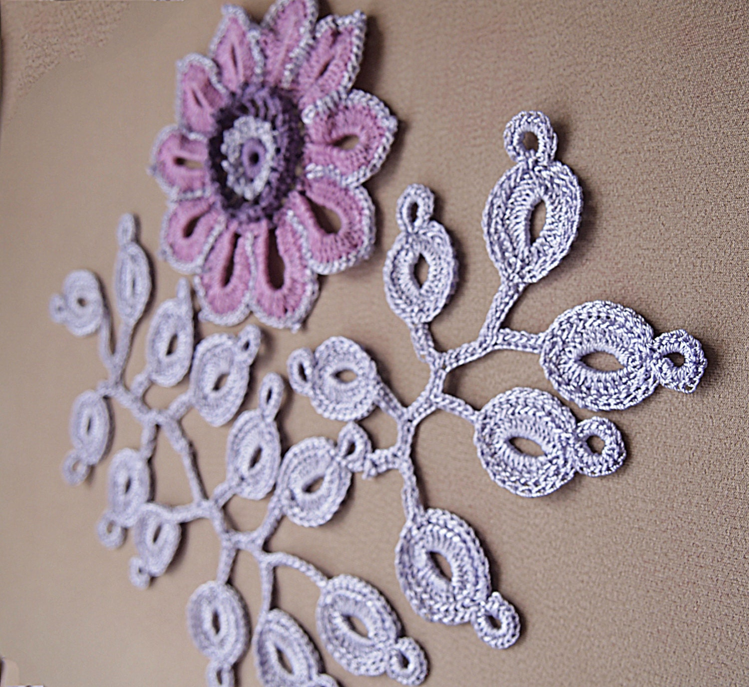 Irish crochet patterndetailed tutorialirish crochet motifs set this is a digital file dt1010fo