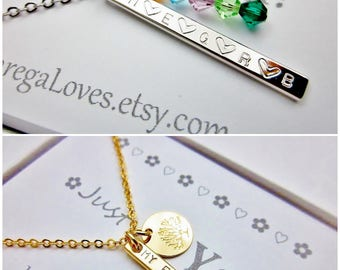 Coordinates necklace Latitude longitude necklace Family tree of life necklace Best friend necklace Personalized necklace Initial necklace
