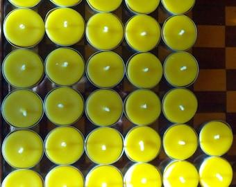 32 Beeswax Tealights