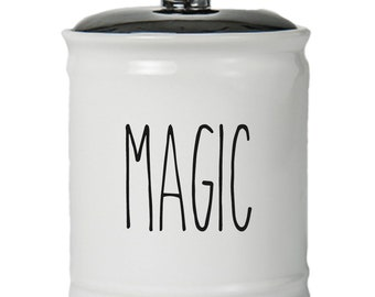 Magic Word Jar With Lid - Money Coin Jar - Money Bank - Money Jar - Money Jar With Lid