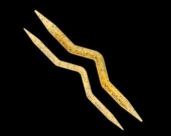 Addi Champagne Braid Pattern Needle  7 mm+10 mm 482-7