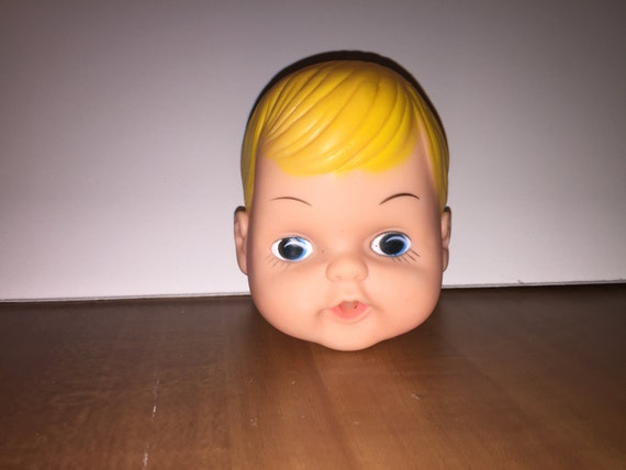 Vintage Baby Doll Head Dollmaking Supplies NOS H9