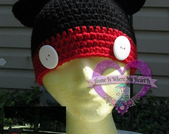 Mickey and Minnie Mouse Inspired Hats