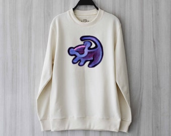 Simba Lion Sweatshirt Sweater Shirt – Size XS S M L XL