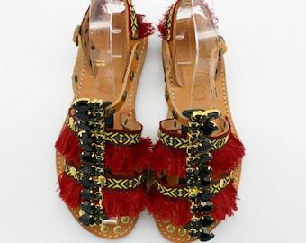 Greek leather sandals, handmade sandals, women's gladiators, Sandales Boheme, Gladiateurs femme, nu-pieds Sandales Grecques, Sandales  Cuir