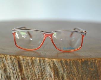 Vintage EMILIO PUCCI glasses , designer frames ....