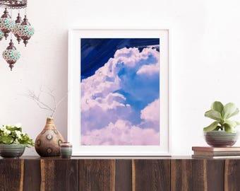 Clouds 09 - Art Print