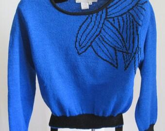 Sweater, by Carlisle, Size M, Wool/Rayon, Vintage