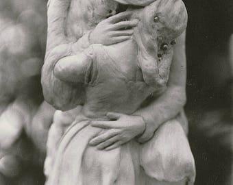 The Embrace- Sculpture- Art Print