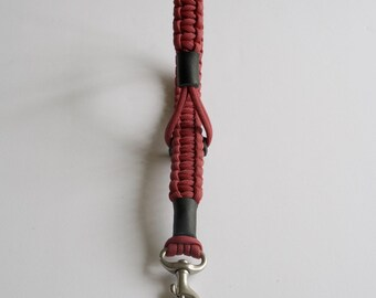 Paracord Camera Strap - Crimson, Wrist Strap, Handmade Camera Strap,