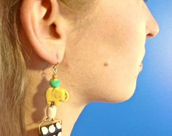 Dancing Elephants (Earrings)