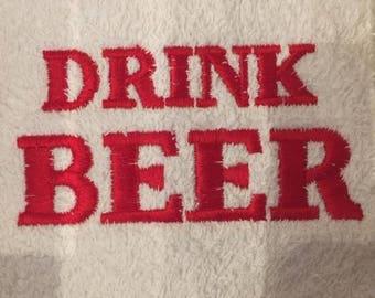 Drink Beer bar towel